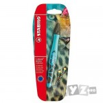 Stabilo Roller 'S Move BE WILD 0.5mm albastru/mud blister