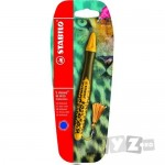 Stabilo Roller 'S Move BE WILD 0.5mm galben/masliniu blister