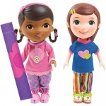 Disney Figurine Doc and Emmie Slumber Party