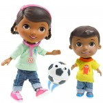 Disney Figurine Doctorita Plusica si Donny Playtime