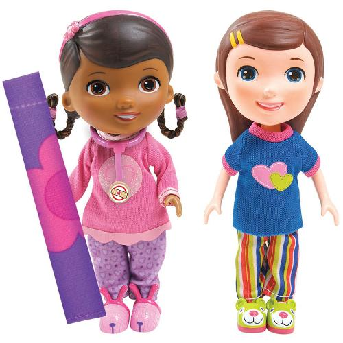 Disney Figurine Doctorita Plusica si Emmie Slumber Party