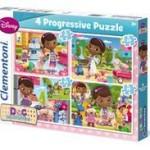 Clementoni Puzzle Progresiv 4X1 Doctorita Plusica