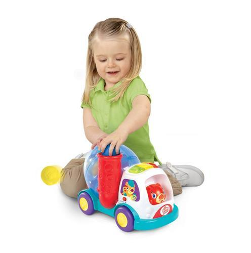 Bright Starts Bright Starts – Having a Ball Camionul Val-Vartej Swirl & Roll