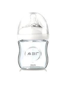 Avent Biberon Natural Avent din sticla nou-nascuti 120 ml