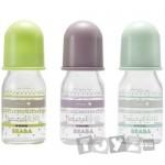 Beaba Biberon sticla 110ml – Pastel.3 culori