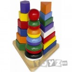 LEGLER Piramida Montessori 3 in 1