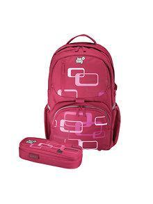 Herlitz Rucsac Be.Bag ergonomic + penar Cube Retro Bundle