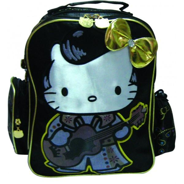 BTS Ghiozdan gradinita Hello Kitty Gold