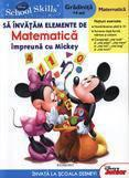 Egmont Sa invatam elemente de matematica impreuna cu Mickey – Matematica (gradinita +4 ani)