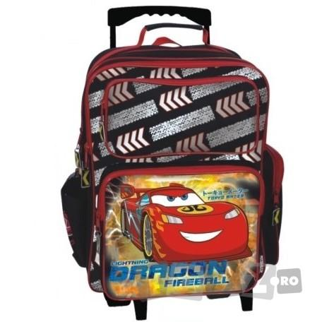 BTS Troler copii Cars McQueen Dragon Fireball