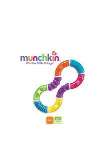 Munchkin Munchkin – Jucarie dentitie Figura Twisty