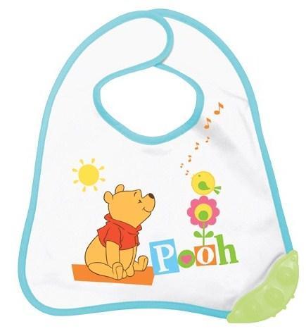 ROTHO BABYDESIGN Baveta cu inel dentitie Winni The Pooh