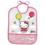 TIGEX Baveta transparenta EVA (+6L) Hello Kitty