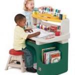 Step2 Masuta Birou Pentru Copii Art Master Activity Desk – Verde