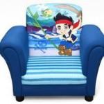 Delta Children Fotoliu Cu Cadru Din Lemn Disney Jake Si Piratii Din Tara De Nicaieri