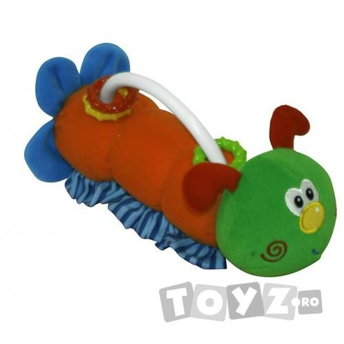Lorelli Jucarie plus Caterpillar – Dog Green 20 cm