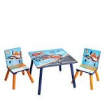 Delta Children Set mobilier masuta si 2 scaunele Disney Planes