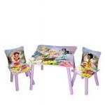 Delta Children Set mobilier masuta si 2 scaunele Disney Fairies