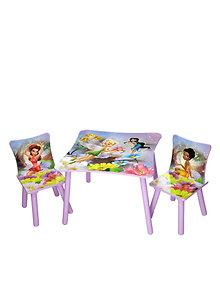 Delta Children Set mobilier masuta si 2 scaunele Disney Fairies