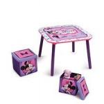 Delta Children Set mobilier masuta si 2 scaunele Disney Minnie Mouse