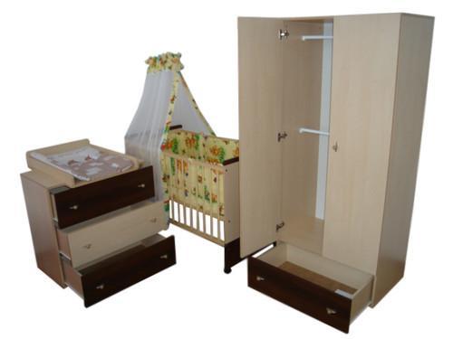Generic Mobilier Camera Copii Si Bebelusi KLUPS PAULA Venghe