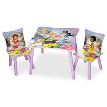 Delta Children Set Masuta Si 2 Scaunele Disney Fairies