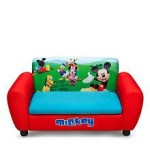 Delta Children Canapea si cutie depozitare jucarii Disney Mickey Mouse