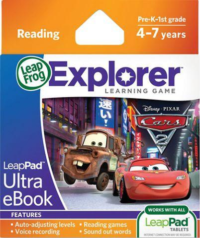 LeapFrog Soft educational LeapPad Cars 2 LEAP32013