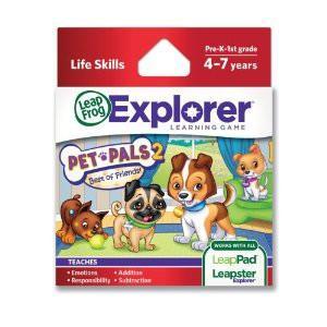 LeapFrog NOU! Soft educational LeapPad – Prietenii mei, animalele LEAP39087 LEAP39087