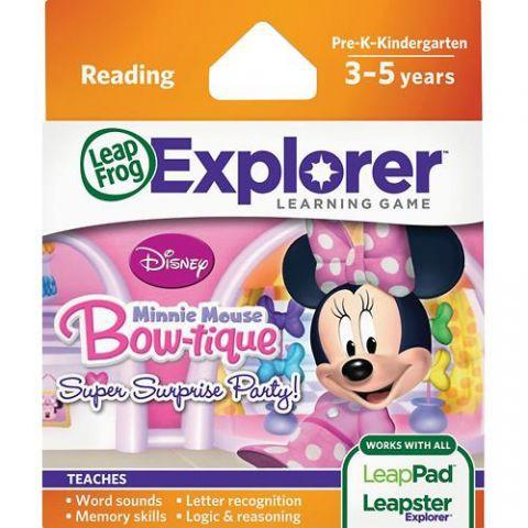 LeapFrog NOU! Soft educational LeapPad Disney – Buticul lui Minnie LEAP39126 LEAP39126