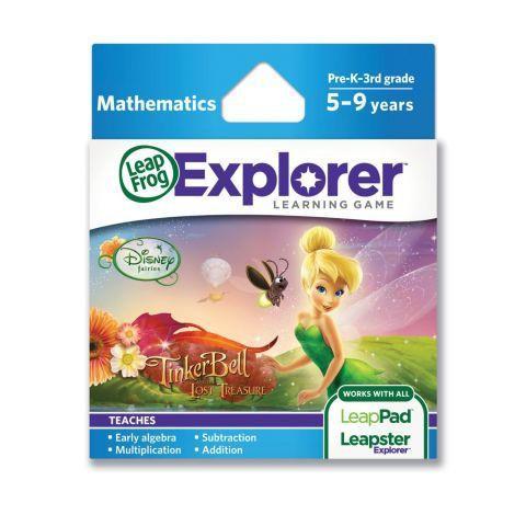 LeapFrog NOU! Soft educational LeapPad Disney – Tinker Bell LEAP39063 LEAP39063
