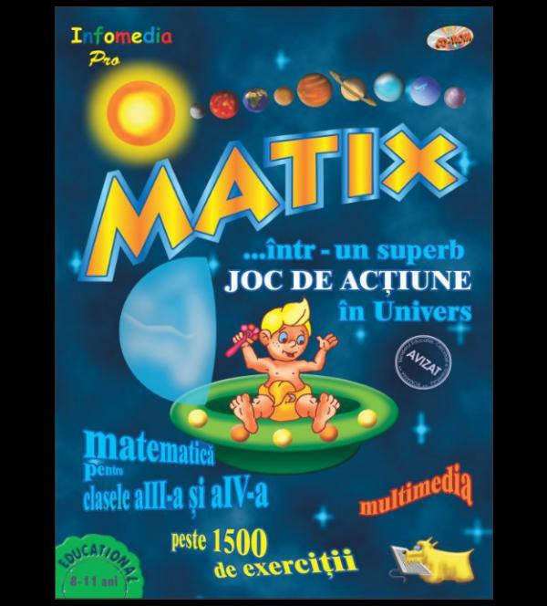 PitiClic Sr. MATIX – Matematica pentru clasele a III-a si a IV-a