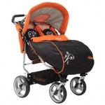 Generic Carucior Gemeni CANGAROO Twins Orange