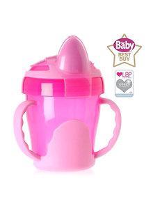 Vital Baby Cana cu manere First Trainer 6 luni+ 200 ml roz
