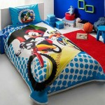 Set Lenjerie Pat Copii Disney Mickey si Goofy