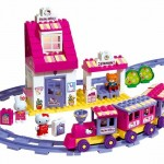 BIG Cuburi Statie de tren Big Hello Kitty