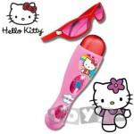 ReigMusicales Set microfon si ochelari Hello Kitty 1496