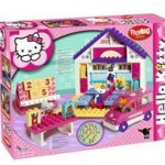 Big Big Hello Kitty Scoala+Masina Set 89 Cuburi
