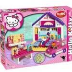 Big Big Hello Kitty Scoala+Masina Set 89 Cuburi