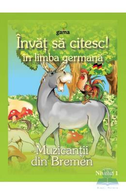 Invat sa citesc! in limba germana – Muzicantii din Bremen