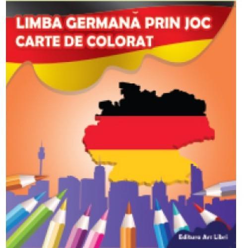 ARSLIBRI Limba germana prin joc – Carte de colorat