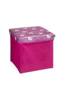 Delta Children Taburet cutie depozitare jucarii Hello Kitty