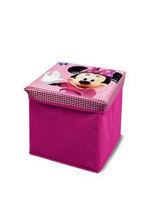 Delta Children Taburet cutie depozitare jucarii Disney Minnie Mouse