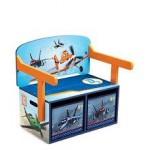 Delta Children Mobilier 2 in 1 pentru depozitare jucarii Disney Planes