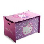 Delta Children Ladita lemn depozitare jucarii Hello Kitty