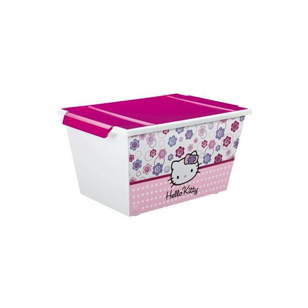 Rotho Rotho – Cutie depozitare cu role Hello Kitty 45L