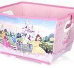 Delta Children Cutie Cu Roti Pentru Depozitare Jucarii Disney Princess
