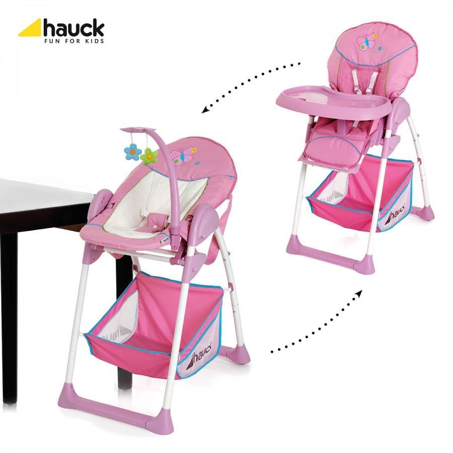 Hauck Hauck – Scaun de masa si sezlong 2 in 1