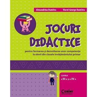 CORINT Jocuri didactice Cls 3 si 4 – Alexandrina Dumitru, Viorel-George Dumitru