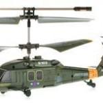 Syma Elicopter Black Hawk Uh-60 Cu Gyro 3 Canale De Interior Syma S102g